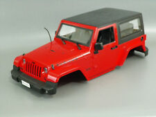 1:10 Jeep Rubicon Scale HARD BODY SHELL RC Rock Crawler SCX10 Axial D90 4WD