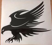 Coche grande Bonnet tribal Hawk Eagle atacar garras Gráfico de vinilo pegatina pared