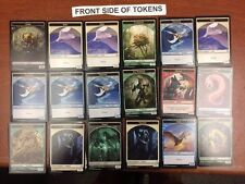 1X Commander 2016 Complete Set-18 Double Two Sided Token-MTG Lot