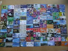 100 ASSORTED COLLECTION WORLDWIDE  PHONE CARDS,
