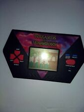 Vintage Wizards & Warriors  Electronic Handheld game by Akklaim tested works