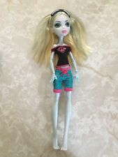 "Monster High 11"" Doll LAGOONA SEA MONSTER DEAD TIRED Pajamas Mask"