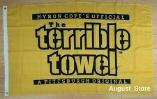 Pittsburgh Steelers Terrible Towel Flag 3x5 ft NFL Banner