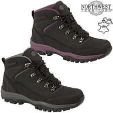 Ladies Womens Leather Walking Hiking Waterproof Ankle Boots Trainers Shoes  Size ca64aa4de82f