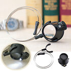 15X Led Magnifier Eye Loupe HeadBand Jewelers Magnifying Glass Watchmakers