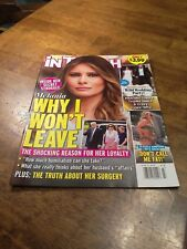 IN TOUCH MAGAZINE MELANIA JUNE 4 2018 NEW WHY I WON'T LEAVE ( B-D-B-2-)