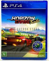 Horizon Chase Turbo - PS4 - Brand New | REGION FREE | Portuguese Cover
