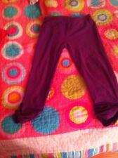 Purple Gap Girls Sz 6 7 pants capri