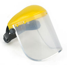 Clear Face Visor Mask Shield Safety Workwear Eye Protection Gardening Adjustable