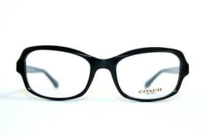 BRAND NEW COACH HC6097 5002 BLACK AUTHENTIC EYEGLASSES WOMENS RX 52-18-135 MM