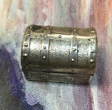 Antique Sterling Silver Jewelry Box Shape 15.5 Grams