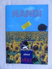 Nardi Italien - Programm 2000 - Prospekt Brochure englisch  (0691