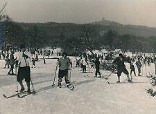 HONGRIE c. 1940 - Sport d'Hiver à János-hegy  Budapest - DIV 8113