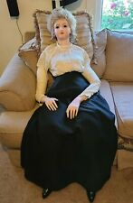 Handmade Lady Grace Reproduction Bru Life size Bisque Mannequin Victorian 5ft