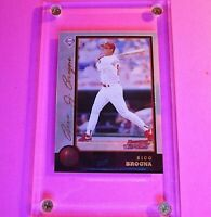 1998 Bowman Chrome Golden Anniversary #239 Rico Brogna Mint Condition #d 43/50