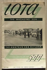 IOTA 500 CLUB RACING Car Magazine Oct 1948