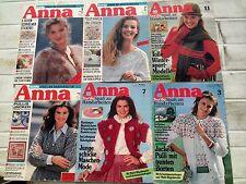 ANNA Burda Spass am Handarbeiten  Sticken  10 Hefte  1981-1992