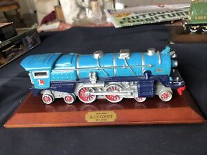 Vintage Lionel Classic Blue Comet Locomotive 1931 #400E With Wood Base Avon