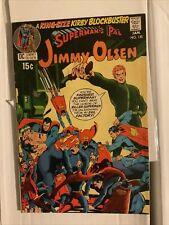 Superman's Pal Jimmy Olsen 135. 2nd Darkseid, Nice Copy. Evil Factory