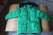 H&M Winterjacke mit Kapuze Größe 122 grün