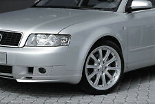 Audi A4 B6 GENUINE ZENDER FRONT SPOILER (Left and Right). ADD ON LIP EXTENSIONS