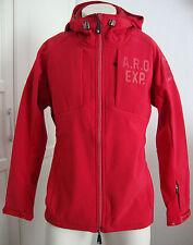 Arqueonautas 696182 da uomo Softshell Giacca Cappuccio Rosso Taglia XL nuovo con etichetta