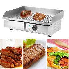 3000W Plancha Parrilla Eléctrica de BBQ Barbacoa Teppanyaki Cocina Filete Bistec