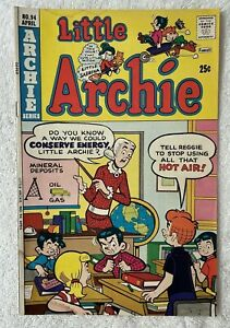Little Archie Comic Book with Little Sabrina  #94 ~1975