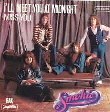 """SMOKIE-I'LL MEET YOU AT MIDNIGHT-ORIGINAL YUGOSLAV 7"""" 45rpm 1977-UNIQUE COVER"""