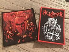 Hellbringer Australian Thrash Blackened Metal Patches Battle Jacket
