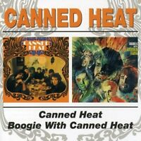 CANNED HEAT - CANNED HEAT/BOOGIE WITH  CD NEU