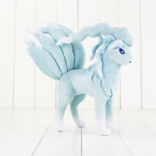 Pokemon Alolan Ninetales Plush Soft Stuffed Teddy Bear Kids Vulpix Sun Moon