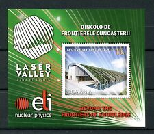 Romania 2016 MNH Laser Valley Land of Lights 1v M/S Physics Science Stamps