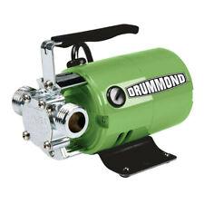 Drummond Brand Model 63317 Water Pump 320Gph 1/10hp 120v Retail $80 plus tax