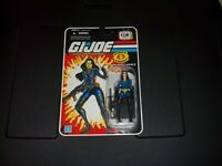 GI JOE 25th Anniversary BARONESS GI JOE Cartoon Series Action Figure MOC!