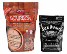 Bourbon Barrel Smoking Chips & Jack Daniels Smoking Pellets