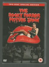 THE ROCKY HORROR PICTURE SHOW - Tim Curry - UK R2 DVD (2-DISC SET)  with booklet