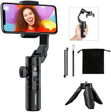 BOMAKER 3-Axis Gimbal Stabilizer for Smartphone, Portable Foldable Design