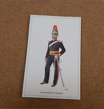Military Uniforms Postcard Denbighshire Yeomanry  unposted