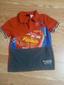 Boys Disney Cars Polo Shirt 6