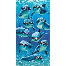 Mod Squad Velour Beach Towel