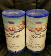 Bestway Flowclear Outside Outdoor Swimming Pool Filter Cartridges Type V #58168