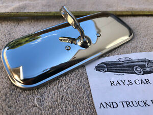 NEW 1959 TO 1971 REPLACEMENT CHEVROLET TRUCK INTERIOR REAR VIEW MIRROR !