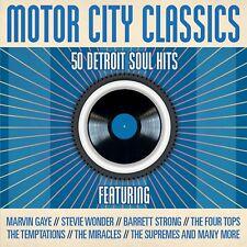 Motor City Classics-50 Detroit Soul Hits MARVIN GAYE BARRETT STRONG MIRACLES
