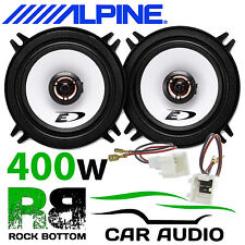 Dacia Duster 2010 On 13cm 2 Way 400 Watts Rear Door Car Speakers Upgrade Kit