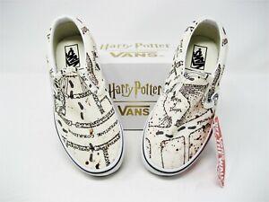 VANS Harry Potter Marauders Map Classic Slip-On Shoes Little Kids Size 12