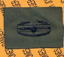 US Army CAB Combat Action Badge OD Green & Black cloth patch