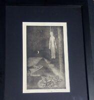Anton PRINNER gravure signée n°1/25 tarot Egypte esotérisme papyrogravure 1948