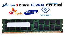 Lot of 2 Major Brand 4 GB DDR3-1333 PC3L-10600R 2Rx4 1.35V DIMM Server RAM