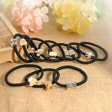 10pcs Women's Elastic Hair Ties Band Ropes Ring Ponytail Holder Accessories Hot